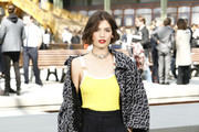 Alma Jodorowsky attends the Chanel Cruise 2020 Collection : Photocall In Le Grand Palais on May 03, 2019 in Paris, France.