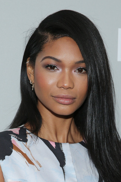 'The Orchard's DIOR & I' New York Screening [the orchards dior i,hair,face,eyebrow,hairstyle,black hair,lip,beauty,forehead,chin,long hair,chanel iman,new york,paris theater,screening,screening]