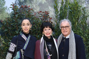 (C) Geraldine Chaplin and her family attend the Chanel Haute Couture Spring Summer 2019 show as part of Paris Fashion Week  on January 22, 2019 in Paris, France.