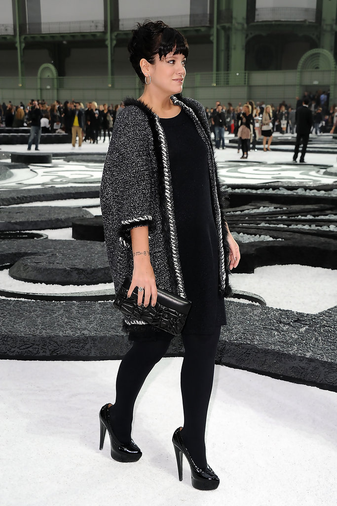 Lily Allen in Chanel