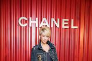 """Anastassia Khozissova attends the Chanel Replica Show In Moscow """"Metiers D'Art Paris - Hamburg 2017-18"""" on May 31, 2018 in Moscow, Russia."""