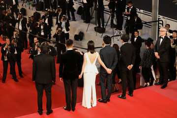 Chang-dong Lee 'Burning (Beoning)' Red Carpet Arrivals - The 71st Annual Cannes Film Festival