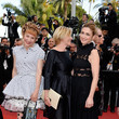 Chantal Ladesou 'The Unknown Girl (La Fille Inconnue)' - Red Carpet Arrivals - The 69th Annual Cannes Film Festival
