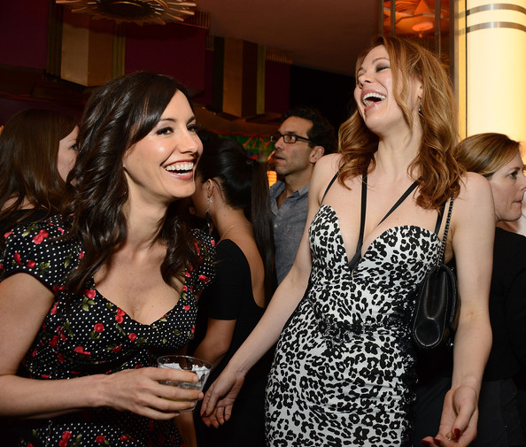 'Authors Anonymous' Afterparty in Westwood [authors anonymous,screen media films,lady,fashion,event,dress,fun,party,cocktail dress,formal wear,fashion design,maitland ward,charlene amoia,california,party,westwood,premiere,party,premiere]