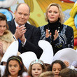 Charlene Wittstock Christmas Gifts Distribution At Monaco Palace In Monte-Carlo
