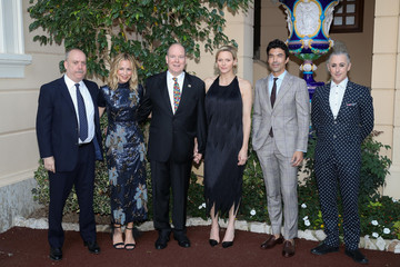 Charlene Wittstock 59th Monte Carlo TV Festival: Cocktail At The Monaco Palace