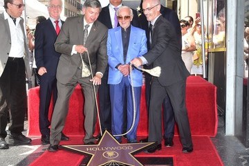 Charles Aznavour Charles Aznavour Honored With Star On The Hollywood Walk Of Fame
