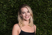 Margot Robbie attends the Charles Finch & Chanel pre-BAFTA's dinner at Loulou's on February 09, 2019 in London, England.