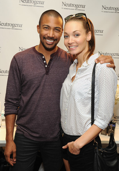 Charles Michael Davis with cute, sweet, Single