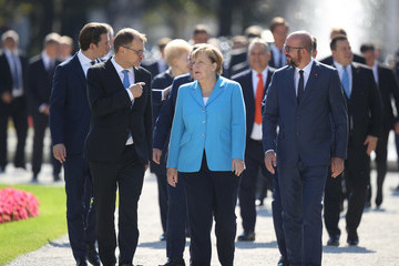 Charles Michel Austria Holds Informal EU Summit