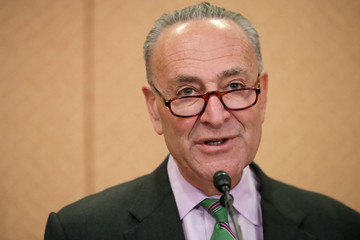 Charles Schumer Sen. Schumer (D-NY) Holds News Conference on Supreme Court Justice Nominee Gorsuch's Record