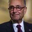 Charles Schumer Senate Republicans And Democrats Deliver Remarks After Weekly Policy Luncheons