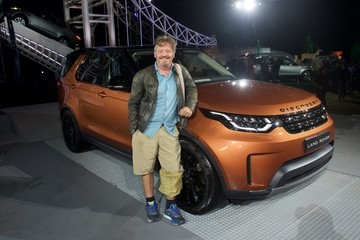 Charley Boorman Land Rover Unveil The New Discovery At Show-Stopping Global Reveal Event