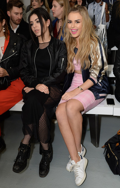 Front Row & Celebrities: Day 2 - LFW AW16