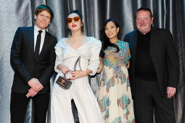 2017 SESAC Pop Awards - Show [fashion,event,fashion design,suit,ceremony,formal wear,style,performance,john norris,charli xcx,vp,jamie dominguez,creative john sweeney,l-r,new york city,sesac,sesac pop awards - show,sesac pop awards]