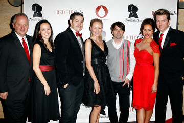 Charlie Lowell Arrivals at the Red Tie Gala