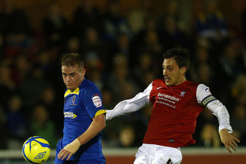 Charlie Strutton AFC Wimbledon v York City - FA Cup First Round Replay
