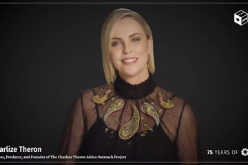 Charlize Theron An Evening with CARE, Celebrating the 75th Anniversary of the CARE Package