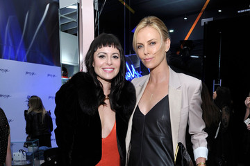 Charlize Theron Nasty Gal Melrose Store Launch