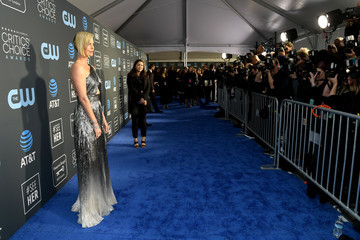 Charlize Theron The 24th Annual Critics' Choice Awards - Red Carpet
