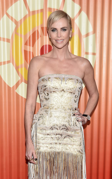 Charlize Theron Hosts Africa Outreach Project Fundraiser