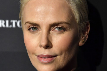 Charlize Theron Vanity Fair: Hollywood Calling - The Stars, The Parties And The Power Brokers - Arrivals