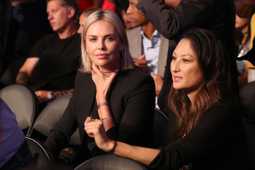 Charlize Theron Floyd Mayweather Jr. v Conor McGregor