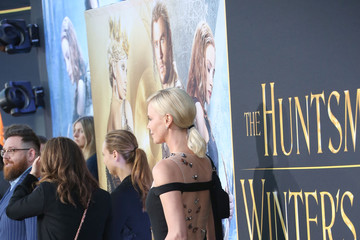 Charlize Theron Premiere of Universal Pictures' 'The Huntsman: Winter's War' - Arrivals