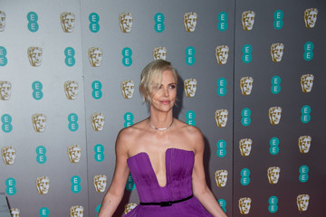 Charlize Theron EE British Academy Film Awards 2020 - Red Carpet Arrivals