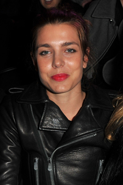 launch at le grand palais in this photo charlotte casiraghi charlotte