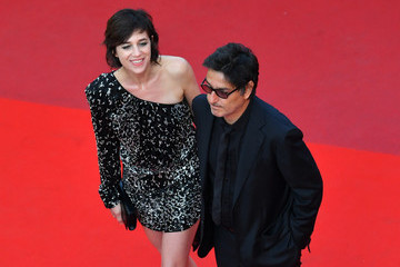 Charlotte Gainsbourg Yvan Attal 'The Meyerowitz Stories' Red Carpet Arrivals - The 70th Annual Cannes Film Festival