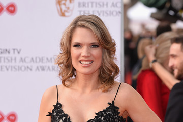 Charlotte Hawkins Virgin TV BAFTA Television Awards - Red Carpet Arrivals