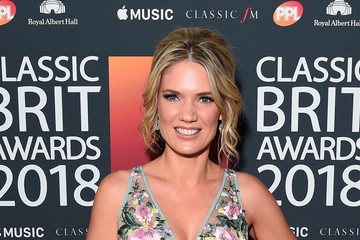 Charlotte Hawkins Classic BRIT Awards 2018 - Red Carpet Arrivals