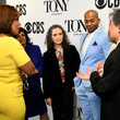 Charlotte St. Martin Bebe Neuwirth And Brandon Victor Dixon Host The 73rd Annual Tony Awards Nominations Announcement