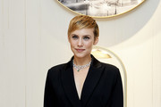 Actress Aura Garrido attends Chaumet new boutique inauguration on April 23, 2019 in Madrid, Spain.