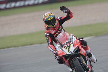 Chaz Davies Motul FIM Superbike World Championship - Race Two