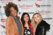 Macy Gray, Mimi Kim, and Avril Lavigne attends ChefDance 2019 - Day 2 sponsored by Shiseido on January 26, 2019 in Park City, Utah.