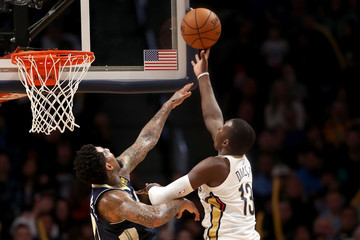 Cheick Diallo New Orleans Pelicans v Denver Nuggets