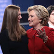 Chelsea Clinton Hillary Clinton And Donald Trump Face On In First Presidential Debate At Hofstra University