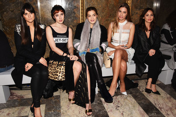 Chelsea Leyland Front Row at London Fashion Week
