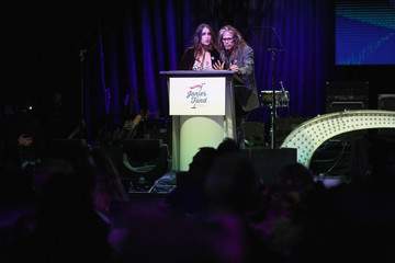 Chelsea Tyler Steven Tyler And Live Nation Presents Inaugural Janie's FundGala & GRAMMY Viewing Party