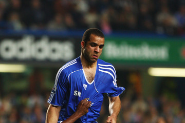 Carl Cort Chelsea v Leicester City - Carling Cup