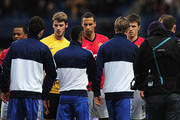 Ashley Cole and Rio Ferdinand Photos Photo