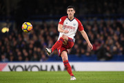 Gareth Barry of West Bromwich Albion in action during the Premier League match between Chelsea and West Bromwich Albion at Stamford Bridge on February 12, 2018 in London, England.