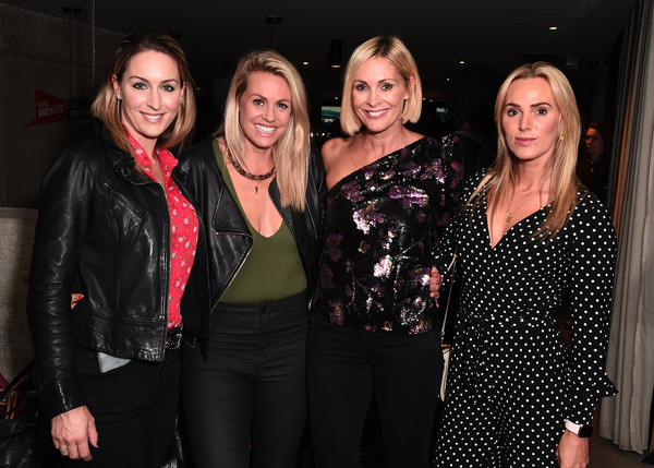 'Running in North Korea' World Premiere - Arrivals [event,fashion,design,fun,party,nightclub,little black dress,fashion design,arrivals,amy williams,sarah joanne lindsay,jenni falconer,chemmy alcott,north korea,london,curzon bloomsbury,world premiere,\u0153running]