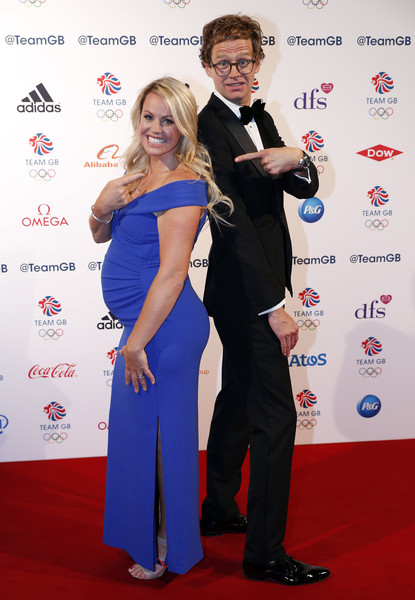 The Team GB Ball 2018 [red carpet,carpet,formal wear,event,shoulder,premiere,flooring,award,dress,suit,chemmy alcott,mark dolan,team gb ball,london,england,the royal horticultural halls,team gb ball 2018]
