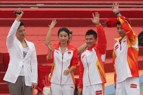 China Marks 100 Day Countdown To London Olympic Games