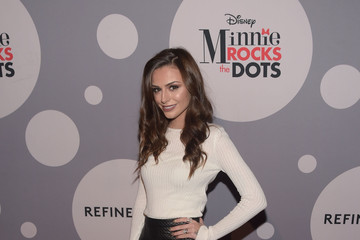 Cher Lloyd Minnie Mouse Rocks The Dots Art And Fashion Exhibit - Arrivals