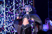 "Stephanie J. Block performs onstage at ""The Cher Show"" Broadway Opening Night at Neil Simon Theatre on December 03, 2018 in New York City."