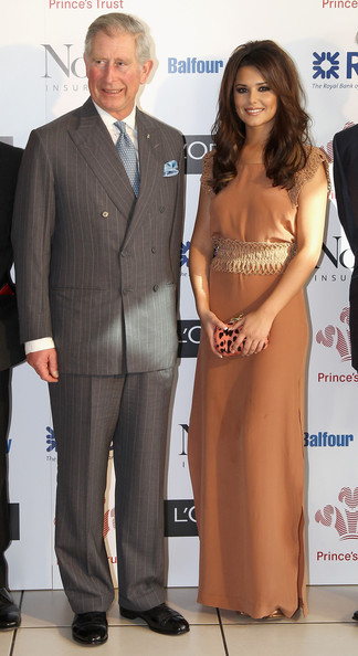 Cheryl Cole Cheryl Cole meets Prince Charles, Prince of Wales during The Prince's Trust Celebrate Success Awards at Odeon Leicester Square on March 23, 2011 in London, England.